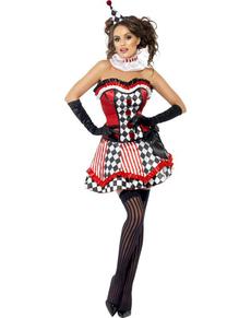 Harlekin Kostüm für Damen Fever