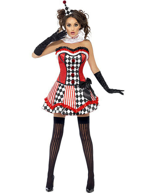 Fever Harlequin costume for a woman