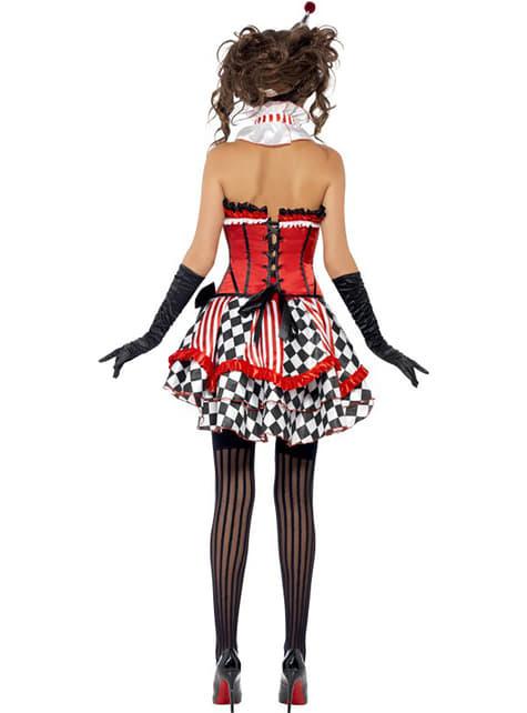 Disfraz de arlequín Fever para mujer - original