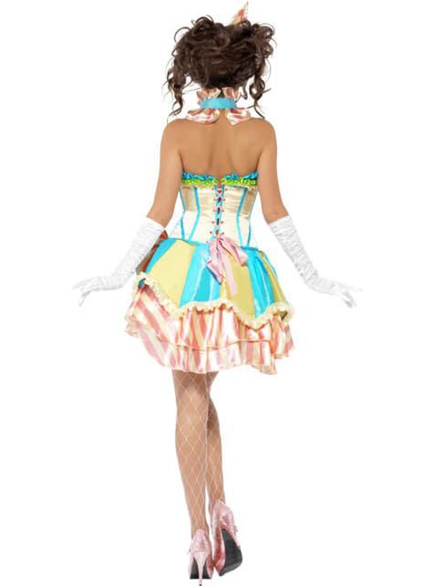 Disfraz de payasita vintage Fever para mujer