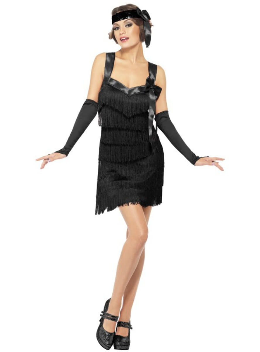 costume charleston ann es 20 pour femme. Black Bedroom Furniture Sets. Home Design Ideas
