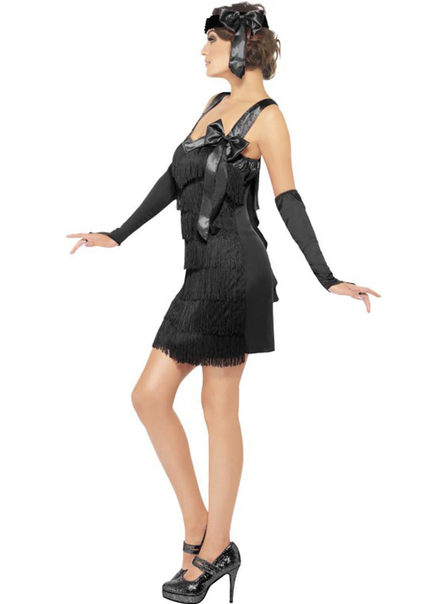 costume charleston ann es 20 pour femme funidelia. Black Bedroom Furniture Sets. Home Design Ideas