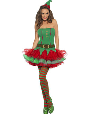 Fever elf costume for a woman