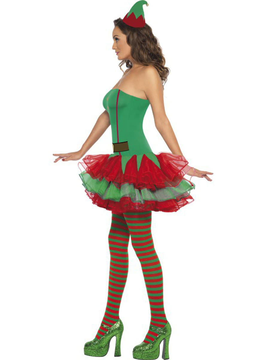 Fever elf costume for a woman. The coolest   Funidelia