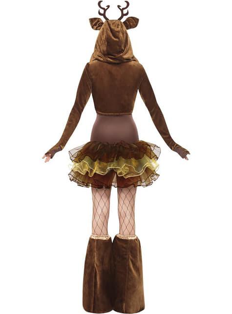 Disfraz de Rudolf Fever para mujer - original
