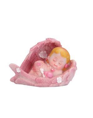 Pupazzetto per torta di bambina - Little Figurines