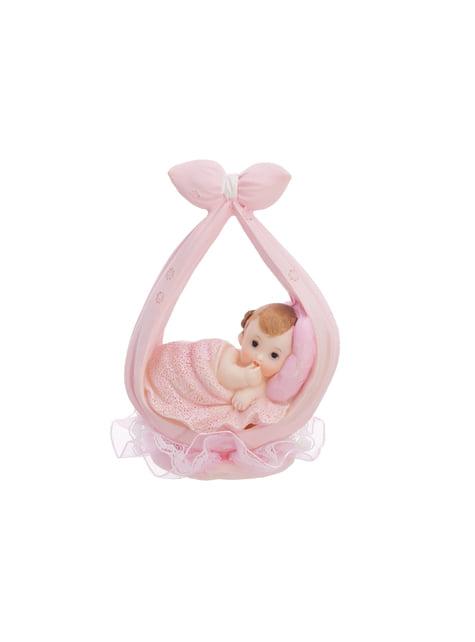 Figura para tarta lazo niña - Little Figurines