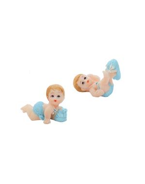 12 Çeşit Erkek Çocuk Figürinler - Küçük Figurinler