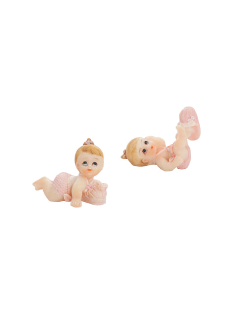 12 figurines divers fille - Little Figurines