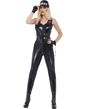 女性のための熱SWAT警察衣装