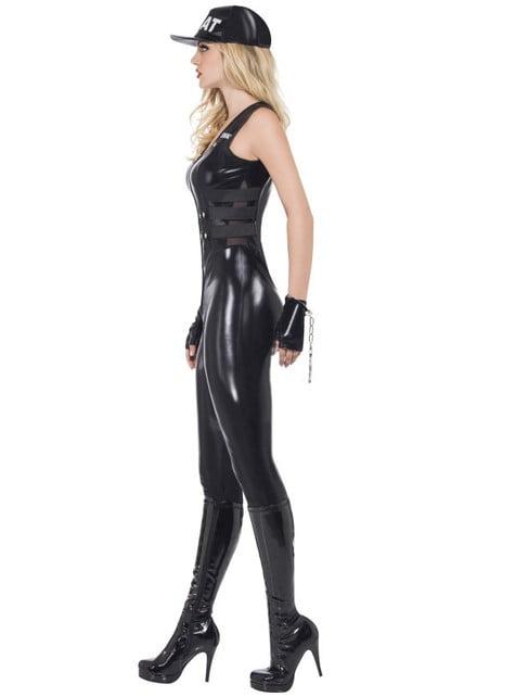 Disfraz de policía SWAT Fever para mujer - traje