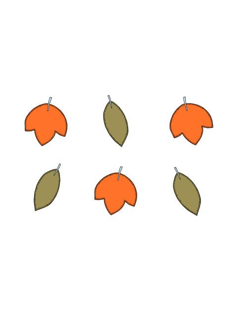 6 éléments décoratifs divers pour la table - Woodland
