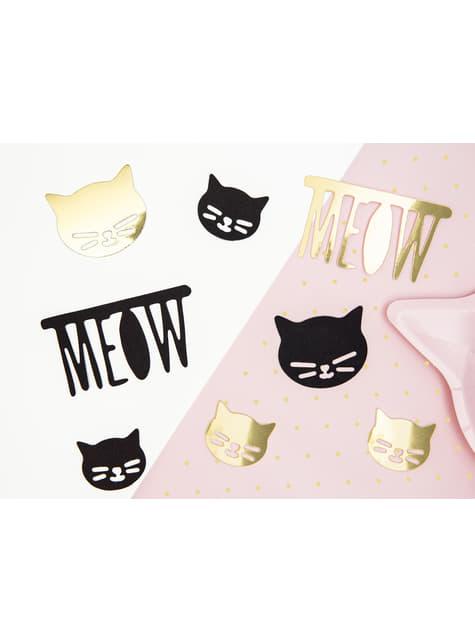 8 elementos decorativos variados para mesa - Meow Party - para tus fiestas