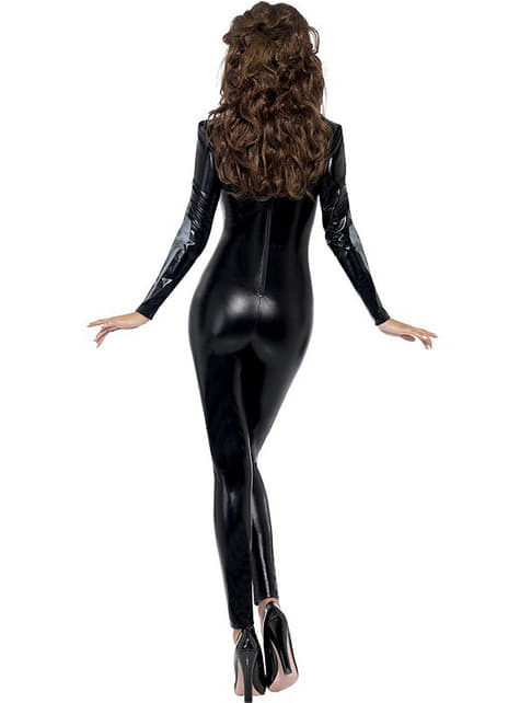Disfraz de esqueleto Fever segunda piel para mujer - original