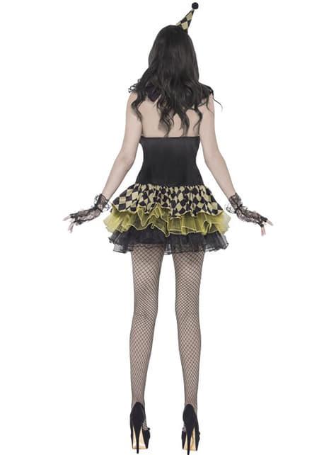 Disfraz de payasita zombie Fever para mujer - original