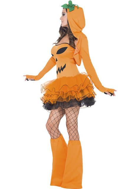 Tekvica kostým pre ženy