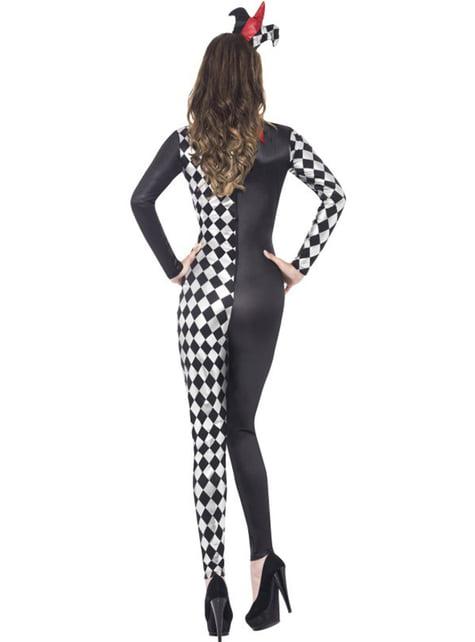Hofnarr Kostüm für Damen Fever