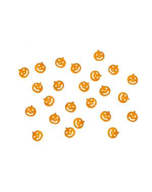 कद्दू तालिका कंफ़ेद्दी, नारंगी - हैलोवीन