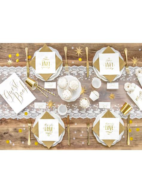 Confeti redondo dorado para mesa - New Year & Carnival - para decorar todo durante tu fiesta