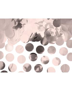 サークルテーブル紙吹雪、ローズゴールド - 新年&カーニバル