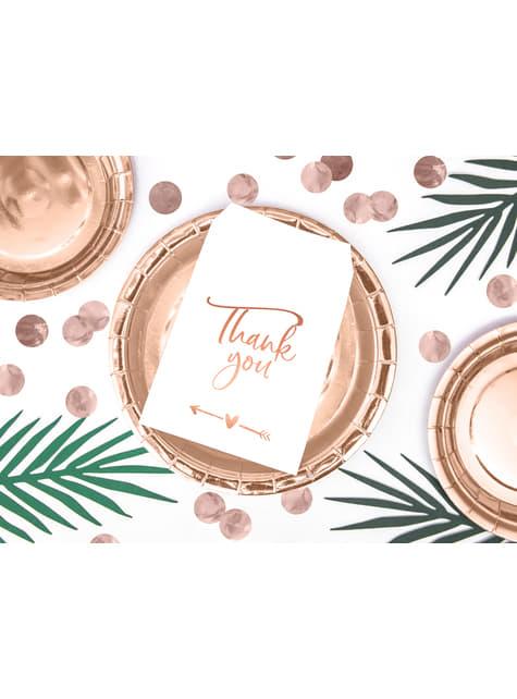 Confeti redondo oro rosa para mesa - New Year & Carnival - el más divertido