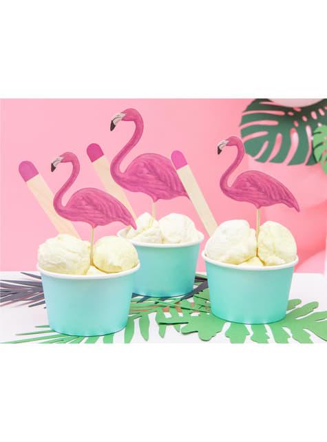 6 vasos azul turquesa para helado - Aloha Turquoise - para niños y adultos