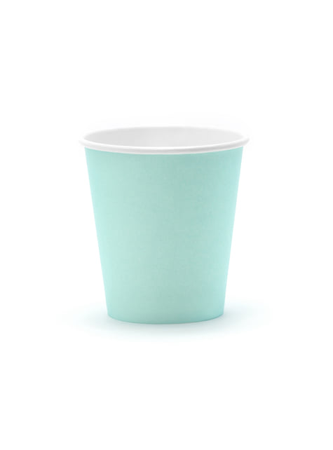 6 vasos azul turquesa - Aloha Turquoise