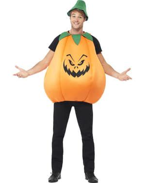 Böser Kürbis Kostüm für Erwachsene