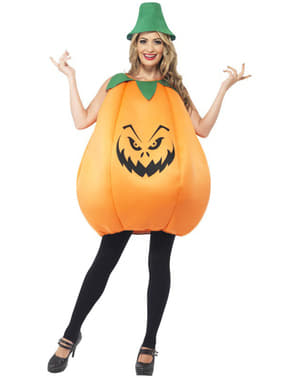 Wicked pumpkin costume for an adult