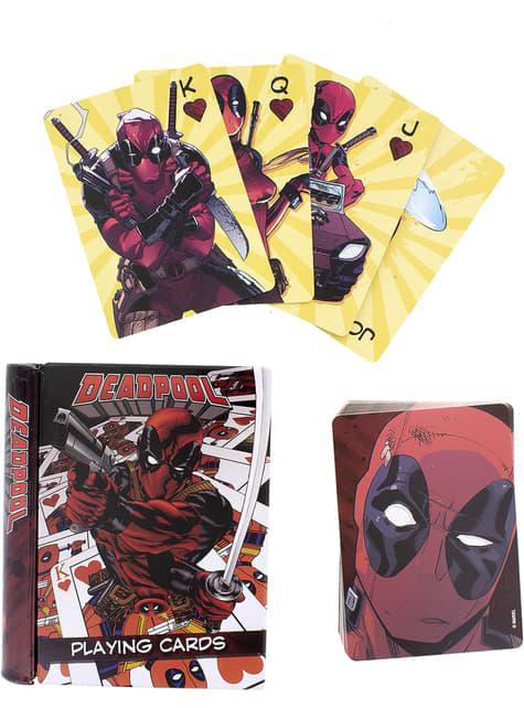 Baraja de cartas de Deadpool
