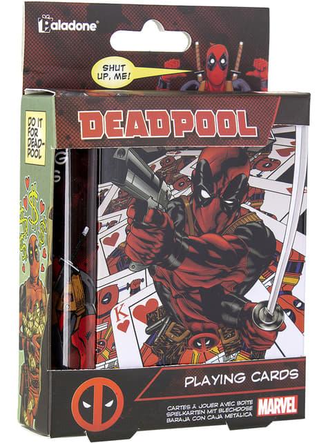 Baraja de cartas de Deadpool - oficial