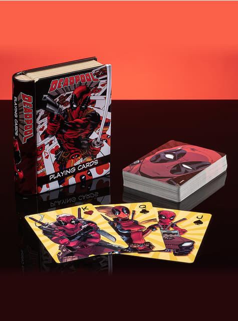 Baraja de cartas de Deadpool - barato