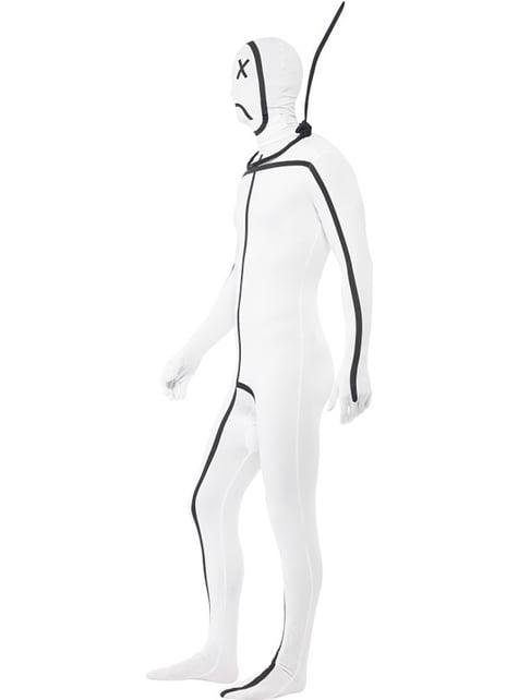 Disfraz de el ahorcado segunda piel para adulto - Halloween