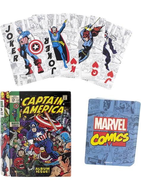 Baralho jogo de cartas Marvel