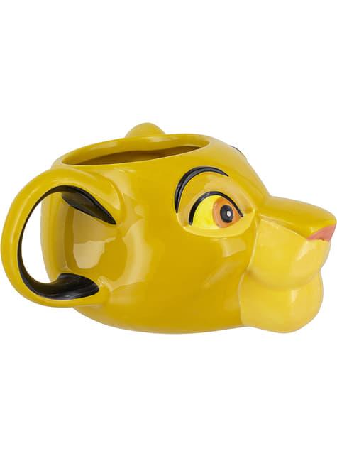 Taza 3D de Simba - El Rey León - oficial