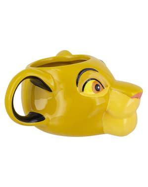 Mug Simba 3D - Raja Singa