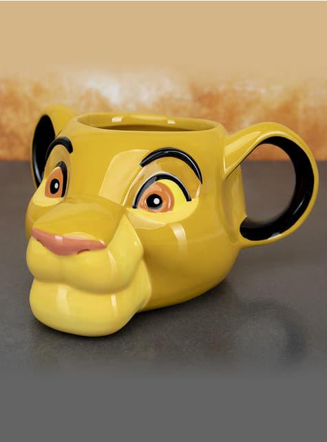 3D Simba mug - The Lion King