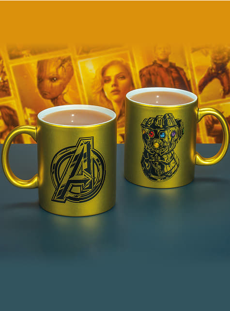 3D hrnek Infinity Gauntlet - The Avengers