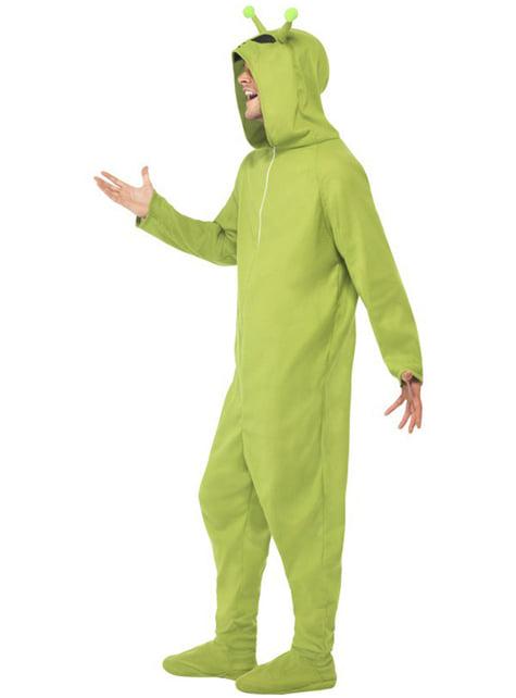 Disfraz de marciano verde para hombre - original