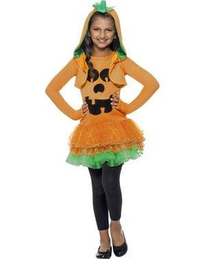 Kürbis Kostüm für Mädchen