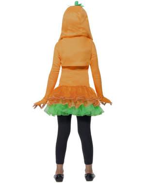 Costum de dovleac pentru fată