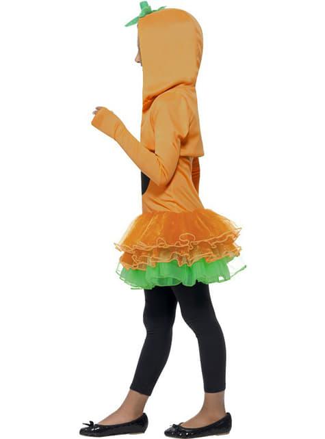Disfraz de calabaza tutú para niña - original