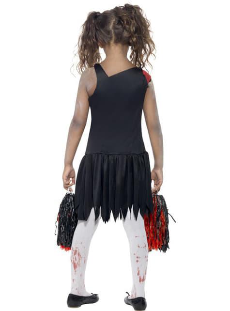 Déguisement pom-pom girl zombie pour fille