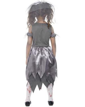 Zombie Brud Kostume til Piger