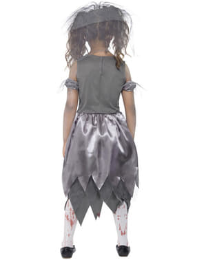 Zombie Bride Costume for Girls