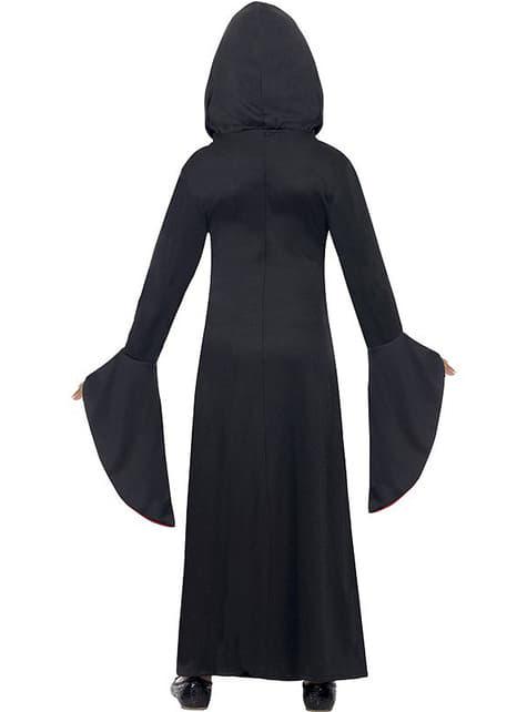 Disfraz de dama vampiresa para niña - niña