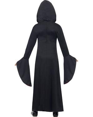 Costum dama vampiră pentru fată