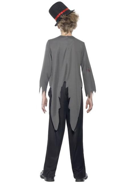 Disfraz de novio zombie para niño - infantil