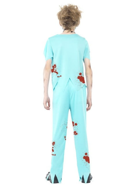 Kids zombie doctor costume
