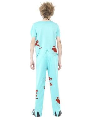 Zombie Arzt Kostüm für Jungen
